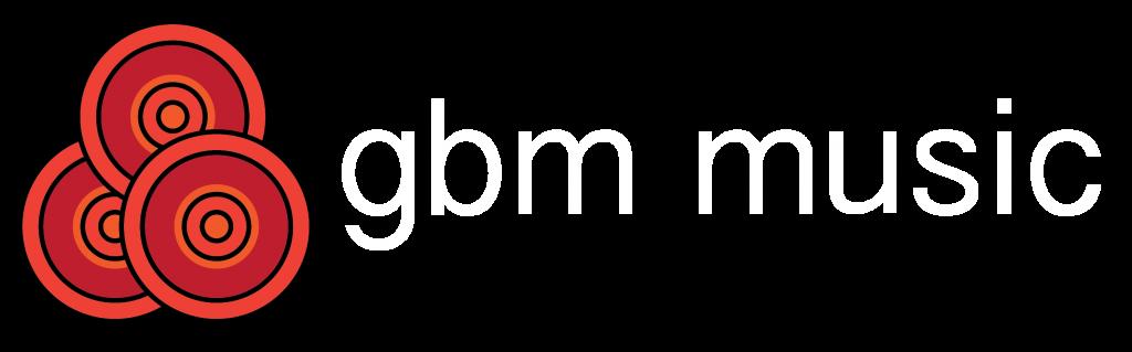 GBM Music Logo white-01