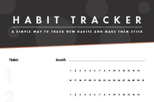 Habit Tracker Featured Image