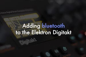 How to add bluetooth to the digitakt